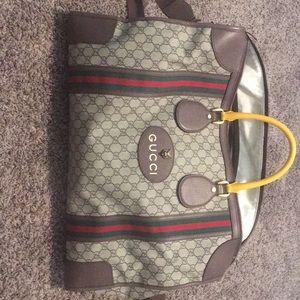 Gucci GG Supreme Duffel Bag